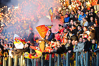 Supporters Lens - 04.01.2014 - Lens / Lyon - Coupe de France<br />