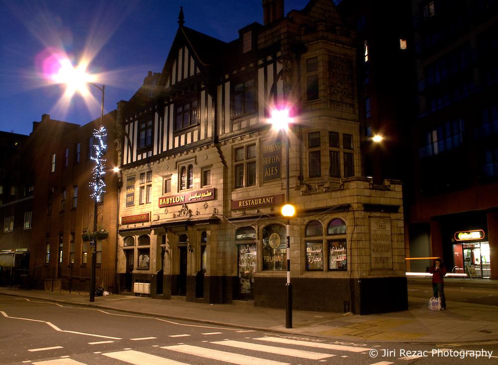 UNITED KINGDOM ENGLAND LONDON 26NOV10 - Exterior view of an old pub, renamed 'Babylon' and converted to a pub and restaurant on Praed Street in Paddington, central London...jre/Photo by Jiri Rezac..© Jiri Rezac 2010