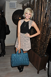 PIXIE LOTT at a party to launch Senkai - London's first modern Japanese-inspired restaurant at 65 Regent Street, London on 26th October 2011.