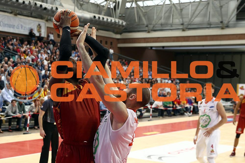 Brown<br /> OraS&igrave; Ravenna - Pallacanestro Virtus Roma<br /> Campionato Basket LNP 2016/2017<br /> Gara 1 Play Off <br /> Ravenna, 29/04/2017<br /> Foto Ciamillo-Castoria/A.Gilardi