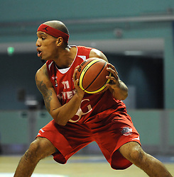 - Photo mandatory by-line: Dougie Allward/JMP - Mobile: 07966 386802 - 31/10/2014 - SPORT - Football - Worcester - Worcester Arena - Worcester Wolves v Bristol Flyers - British Basketball League Cup
