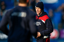 Bristol Rugby Backs Coach Dwayne Peel looks on - Rogan Thomson/JMP - 21/01/2017 - RUGBY UNION - Cardiff Arms Park - Cardiff, Wales - Cardiff Blues v Bristol Rugby - EPCR Challenge Cup.