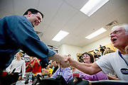Wisconsin Governor Scott Walker (R) campaigns hard to stay in power as he faces a  recall election on June 4th 2012.