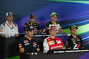 September 18-21, 2014 : Singapore Formula One Grand Prix - Thursday press conference