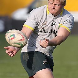PADUA, ITALY - NOVEMBER 21: Adriaan Strauss during the South African national rugby team photograph and captains run at Stadio Euganeo on November 21, 2014 in Padua, Italy. (Photo by Steve Haag/Gallo Images)