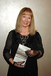 Writer ANN KELLEY at the 2007 Costa Book Awards held at The Intercontinental Hotel, One Hamilton Place, London W1 on 22nd January 2008.<br />