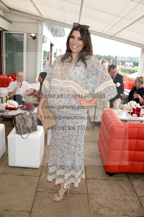 GRACE WOODWARD at the Audi International Polo at Guards Polo Windsor Great Park, Egham, Surrey on 28th July 2013.