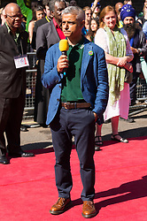 August 27, 2017 - London, London, UK - London Mayor Sadie Khan makes a speech at a multi-faith prayer service for the victims of the Grenfell Tower fire disaster. The service took  place before the start of the first day of the Notting Hill Carnival. (Credit Image: © Ray Tang via ZUMA Press)