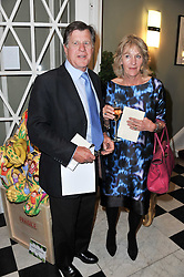 SIMON & ANNABEL ELLIOT at a party to celebrate the 60th birthday of Mark Shand and the 50th birthday of Tara the elephant held at 29 Portland Place, London on 25th May 2011.