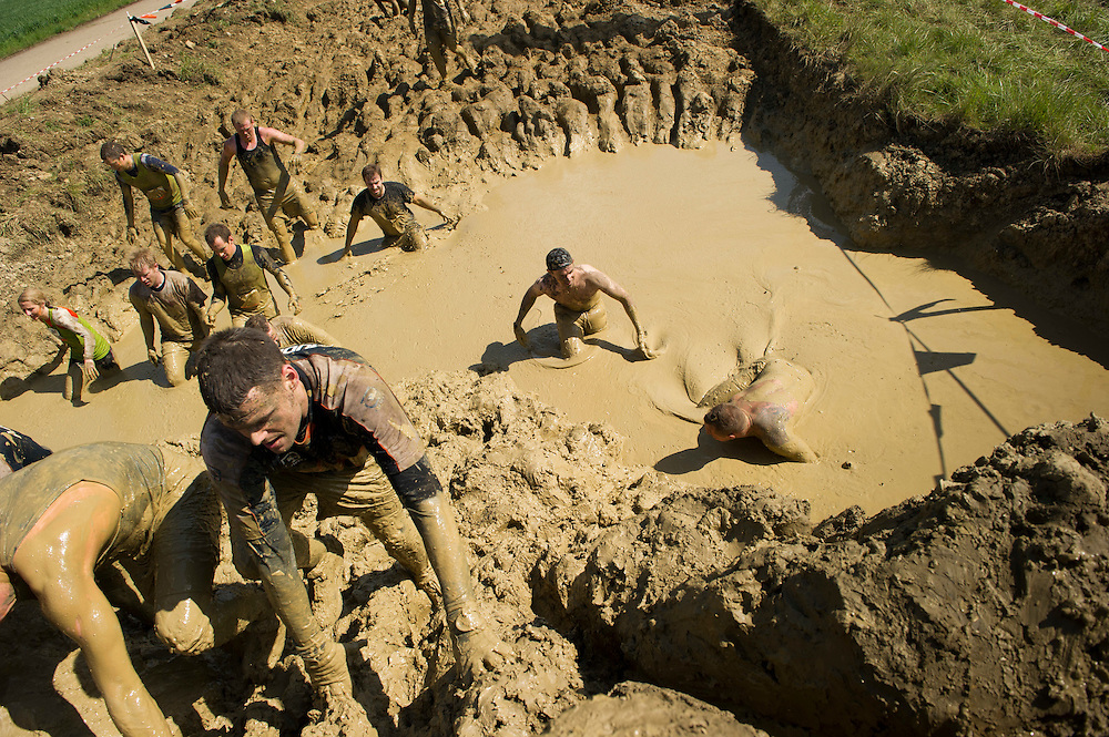 Tough Mudder - May 2012 - Northamptonshire - Mud Mile
