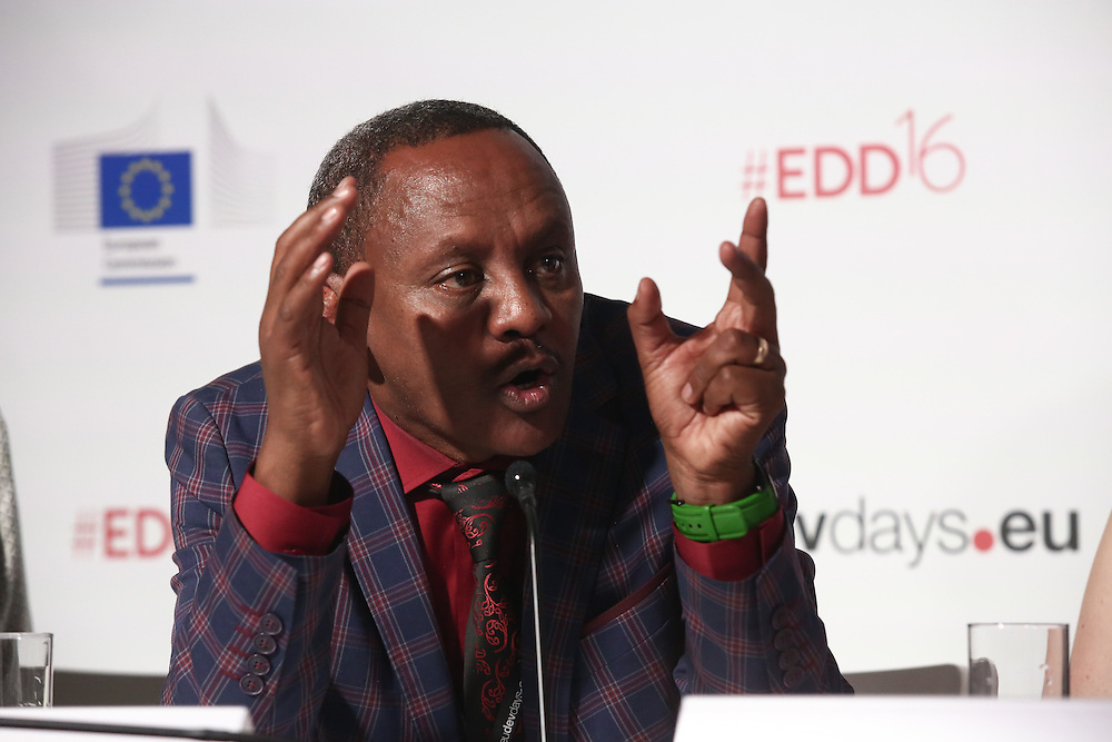 20160616 - Brussels , Belgium - 2016 June 16th - European Development Days - Achieving the Sustainable Development Goals - How can we make business more social ? - Kibret Abebe Tuffa , Founder , TEBITA Ambulance And Pre-Hospital Emergency Medical Service © European Union