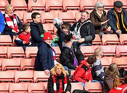 Bristol City fans at Barnsley - Mandatory by-line: Robbie Stephenson/JMP - 30/03/2018 - FOOTBALL - Oakwell Stadium - Barnsley, England - Barnsley v Bristol City - Sky Bet Championship