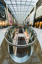 Interior of Fashion Avenue The  Dubai Mall in Dubai United Arab Emirates