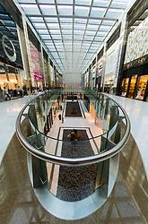 Interior of Fashion Avenue The  Dubai Mall in Dubai United Arab Emirates