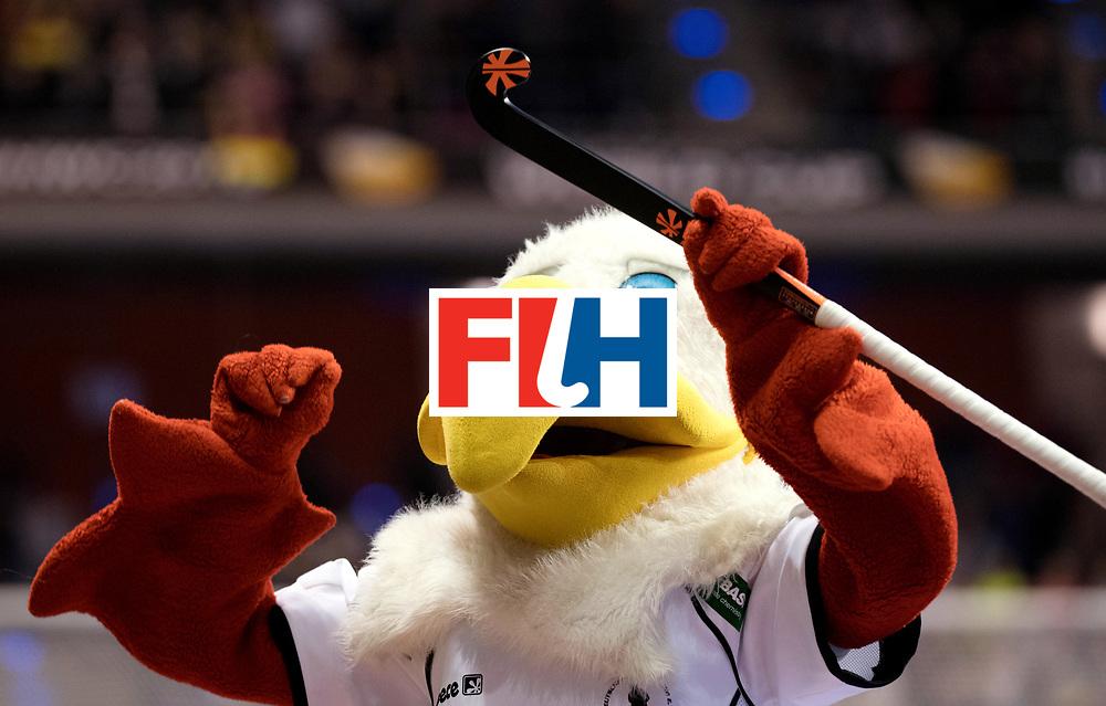BERLIN - Indoor Hockey World Cup<br /> Quarterfinal 3: Germany - Poland<br /> foto: Schlenzi.<br /> WORLDSPORTPICS COPYRIGHT FRANK UIJLENBROEK