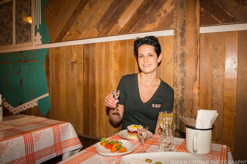 Bonnie Morales, owner and chef at the Russian theme restaurant Kachka in Portland, Oregon.
