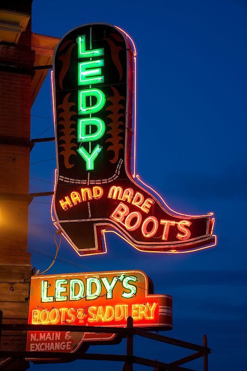 The M.L. Leddy Company has been crafting boots and saddles by hand since 1922.