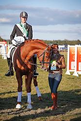 Foets Pieter (BEL) - Gentleman vd Kempenhoeve<br /> LRV Nationaal Tornooi Genk 2012<br /> © Dirk Caremans