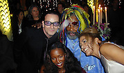 "Bono, Georges Plimpton, Drummer of "" Jay Leno"",<br />