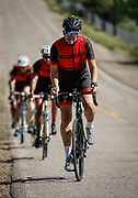 SHOT 6/10/17 8:59:37 AM - Doug Pensinger Memorial Road Ride 2017. The 52 mile ride which took place on the one year anniversary of the passing of Getty Images photographer Doug Pensinger featured more than 30 riders many of whom had ridden with Doug in the past.  (Photo by Marc Piscotty / © 2017)