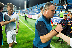 Tomaz Kavcic, head coach of Slovenia after the friendly football match between National Teams of Montenegro and Slovenia, on June 2, 2018 in Stadium Pod goricom, Podgorica, Montenegro. Photo by Vid Ponikvar / Sportida