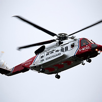 Search and Rescue Operation in Perth…18.03.17 <br />A Coastguard helicopter flying over the River Tay in Perth this morning after emergency services were alerted to a male spotted in the river at around 4am Saturday 18th March. Police Scotland, Scottish Fire & Recsue Service and HM Coastguard are curently searching trhe River Tay area in Perth for the missing male.<br />Picture by Graeme Hart.<br />Copyright Perthshire Picture Agency<br />Tel: 01738 623350  Mobile: 07990 594431
