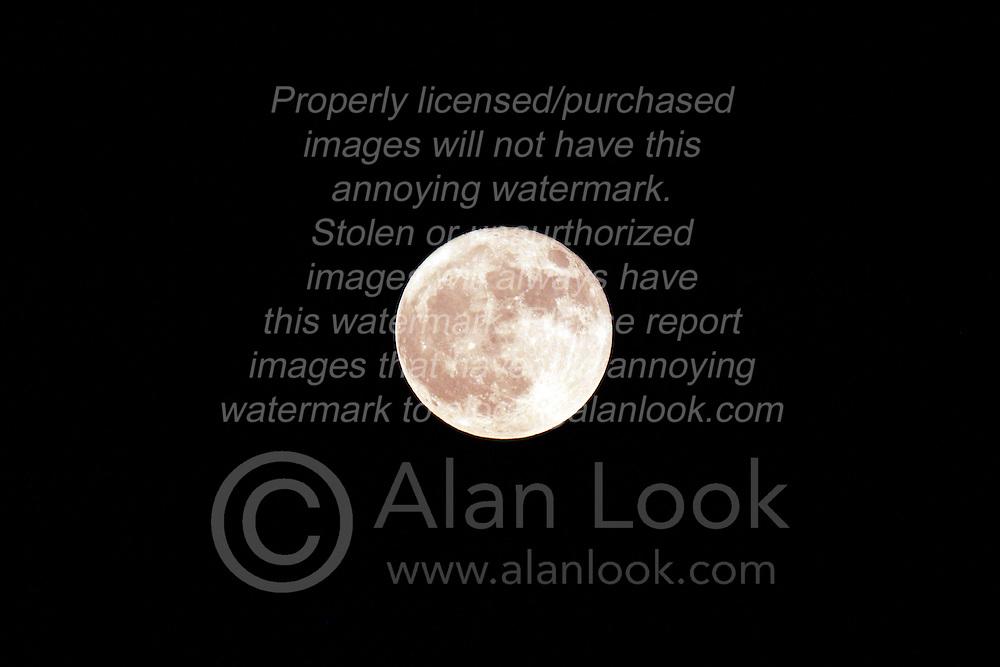 18 June 2008: Moon in full phase