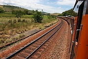 Conselheiro Pena_MG, Brasil. ..Trem de passageiros da Estrada de Ferro Vitoria-Minas...The passenger train of the Railroad Vitoria-Minas...Foto: MARCUS DESIMONI / NITRO