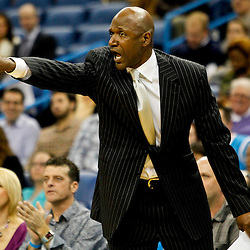 Jan 11, 2013; New Orleans, LA, USA; Minnesota Timberwolves assistant head coach Terry Porter against the New Orleans Hornets during the second half of a game at the New Orleans Arena. The Hornets defeated the Timberwolves 104-92. Mandatory Credit: Derick E. Hingle-USA TODAY Sports