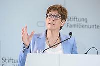 28 JUN 2019, BERLIN/GERMANY:<br /> Annegret Kramp-Karrenbauer, CDU Parteivorsitzende, haelt eine Rede auf dem Tag des Deutschen Familienunternehmens, Hotel Adlon<br /> IMAGE: 20190628-01-079<br /> KEYWORDS: AKK