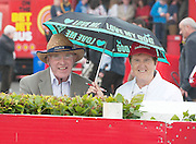 29/07/2014 Jack and Bridget Moloney from Clonmel in Co Tipperary at the Wednesday meeting of the Galway Summer racing Festival. Photo: Andrew Downes