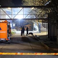 Kristiansand  20161205.<br /> Politiet jobber p&aring; Wilds Minne Skole der to personer tidligere p&aring; dagen ble knivstukket og d&oslash;de av skadene senere.<br /> Foto: Tor Erik Schr&oslash;der / NTB scanpix