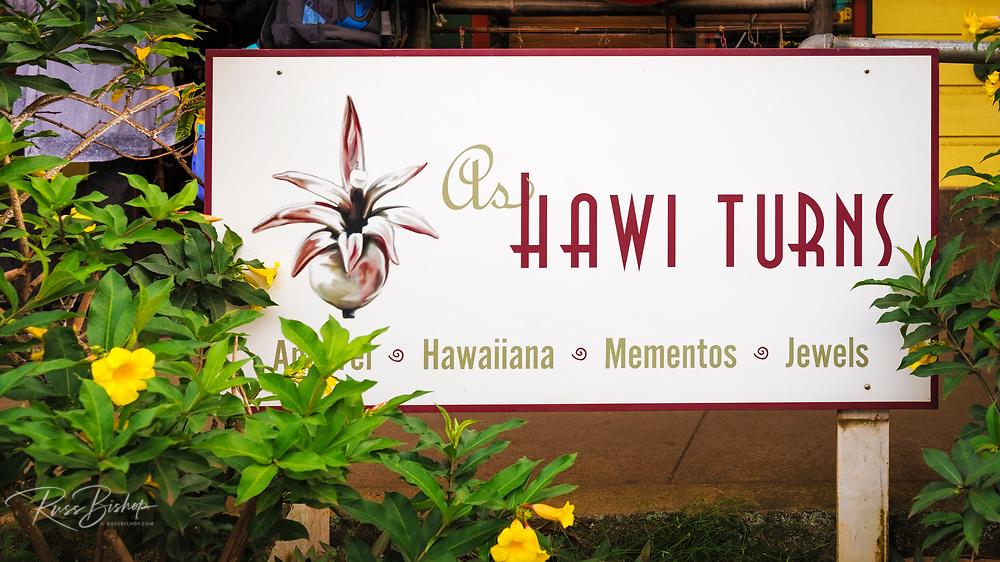 As Hawi Turns Gallery, Hawi, The Big Island, Hawaii USA