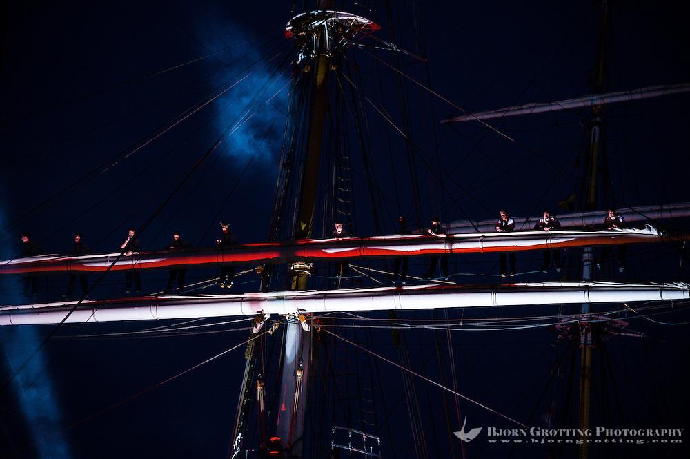 Norway, Stavanger. Tall Ships Race in Stavanger 2011. Closing Ceremony.