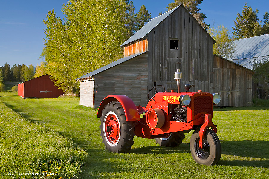 1936 Farmers Union Co-op No#1 only 345 made restored by Dan Tombrink of Columbia Falls, Montana, USA