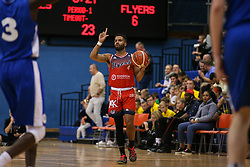 Lewis Champion of Bristol Flyers with the ball - Photo mandatory by-line: Arron Gent/JMP - 28/09/2019 - BASKETBALL - Crystal Palace National Sports Centre - London, England - London City Royals v Bristol Flyers - British Basketball League Cup