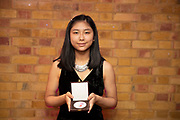 Marie Sato (flute) winner of the 2018 RPS Duet Prizes for young instrumentalists and composers<br /> Photo credit required:  Simon Jay Price