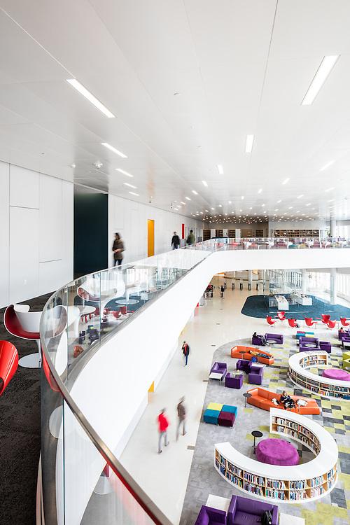 James B. Hunt Library, North Carolina State University| Raleigh, North Carolina | Architects: Snøhetta + Clark Nexsen | Engineer: Stewart Inc.