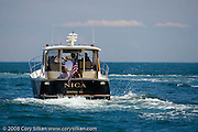 Nica, a Legacy yacht, spectator at the Flip Flop Regatta