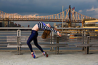 New York City Dance Photography- Dance As Art Gantry State Park with dancer Ashley Whitson