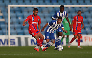 Ben Williamson during the Pre-Season Friendly match between Gillingham and Brighton and Hove Albion at the MEMS Priestfield Stadium, Gillingham, England on 29 July 2015.