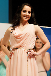 Klementina Sustar during event Miss Sports of Slovenia 2013, on April 20, 2013, in Festivalna dvorana, Ljubljana, Slovenia. (Photo by Urban Urbanc / Sportida.com)