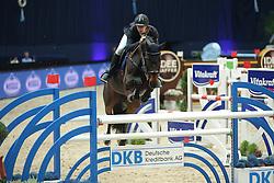 Chudyba Bronislav, (SVK), Extasy III<br /> Champion von München<br />  Jumping München 2015<br /> © Hippo Foto - Stefan Lafrentz