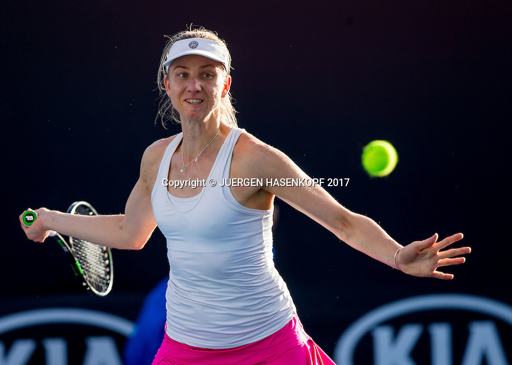 MONA BARTHEL (GER)<br /> <br /> Australian Open 2017 -  Melbourne  Park - Melbourne - Victoria - Australia  - 18/01/2017.