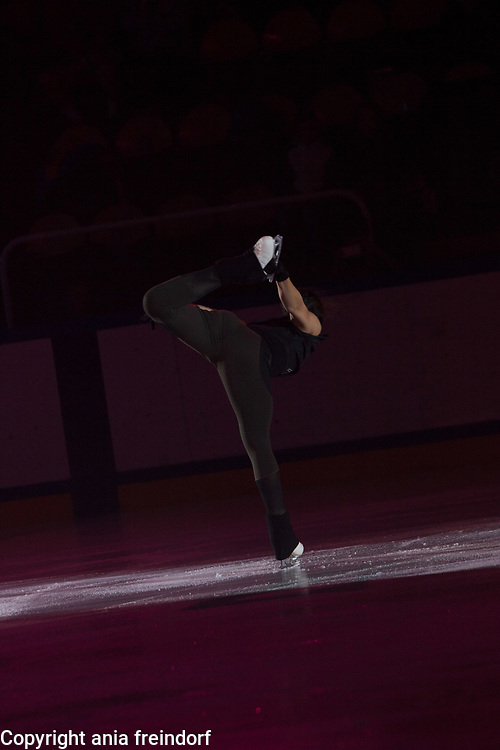 International Ice Skating Gala, Courchevel, France, 20 July 2017, Ivett Toth, Member of National Team, Hungary, Champion of Hungary, 8th Championship of Europe 2017