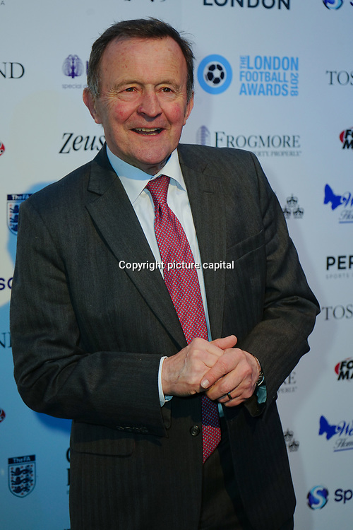 John Hollins Arrives at London Football Awards 2018 at Battersea Evolution on 1st March 2018,  London, UK.