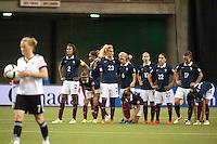 Equipe de France pendant la seance de tirs au but - 26.06.2015 - Allemagne / France - 1/4Finale Coupe du Monde 2015 -Montreal<br />Photo : Catherine Legault / Icon Sport