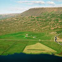 Höfði séð til norðausturs, Hofshreppur / Hofdi viewing northeast, Hofshreppur.