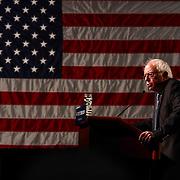 Senator Bernie Sanders speaks in Wilmington Saturday. April. 23, 2016, at The Case Center on The River Front in Wilmington Delaware.