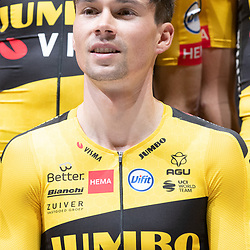 10-12-2019: Wielrennen: Teampresentatie Jumbo Visma: Amsterdam<br />Primoz Roglic